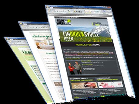 Newsletter Marketing einfach gemacht mit Power Newsletter der Internetagentur LearnConsult in Graz