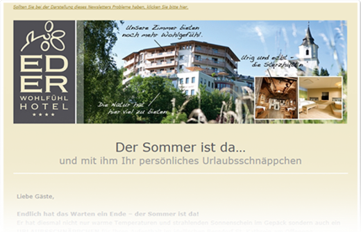 Email Marketing mit dem Newslettersystem