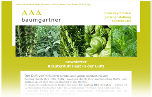 Newsletter Software aus Graz