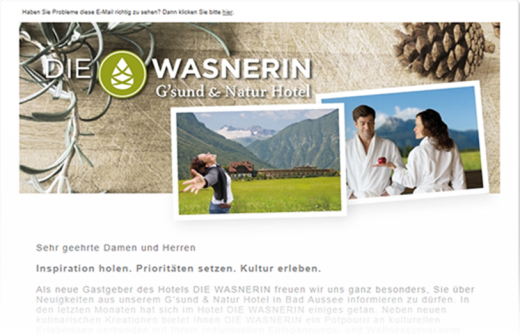 Newslettersystem power newsletter aus Graz